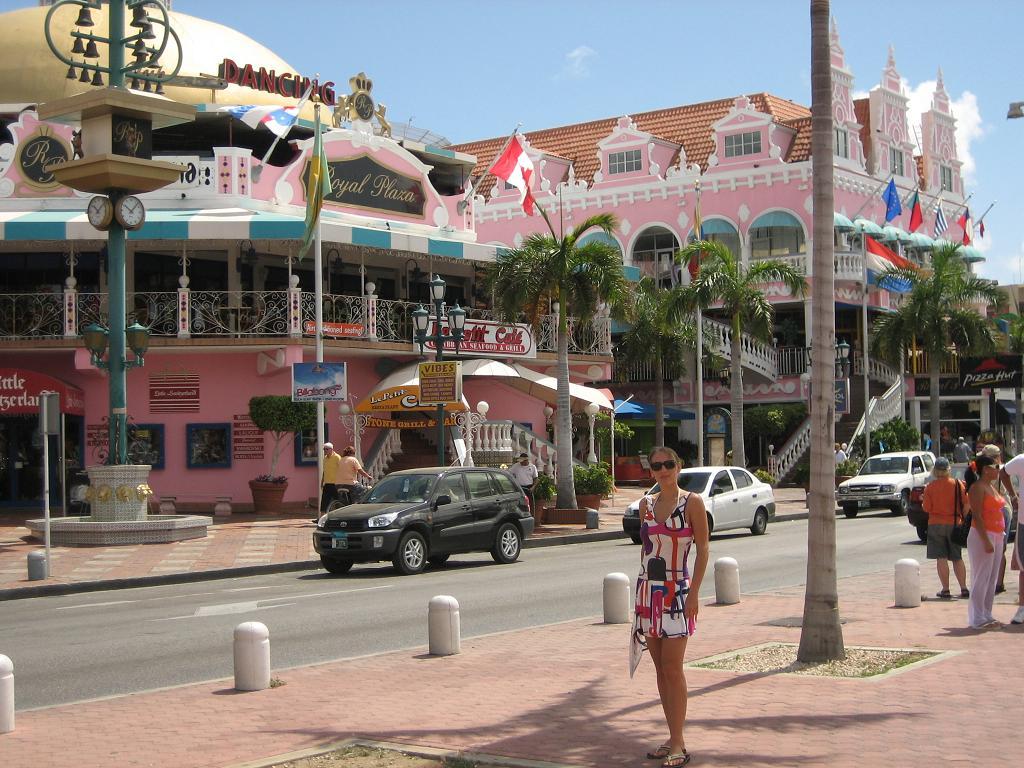 Arubas city Oranjestad