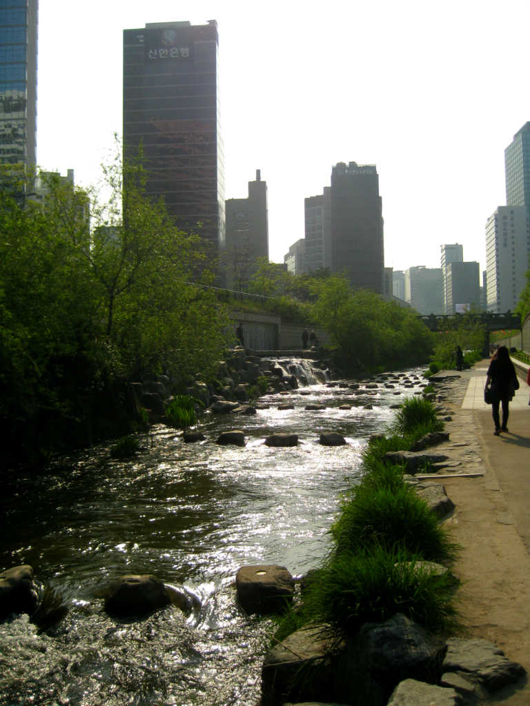 Citypark-Cheonggyecheon -Seoul-Sydkorea-TravelGrip
