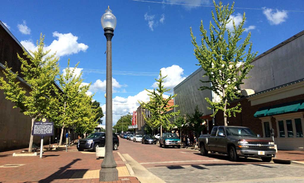 Florence-centrum-Alabama-TravelGrip