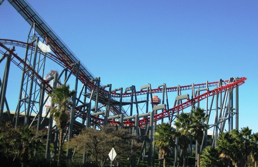 Sixflags-nöjespark-Kalifornien-TravelGrip
