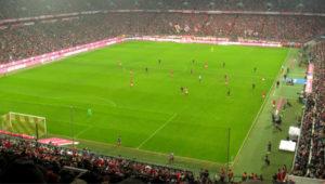Fotboll och schnitzel i München