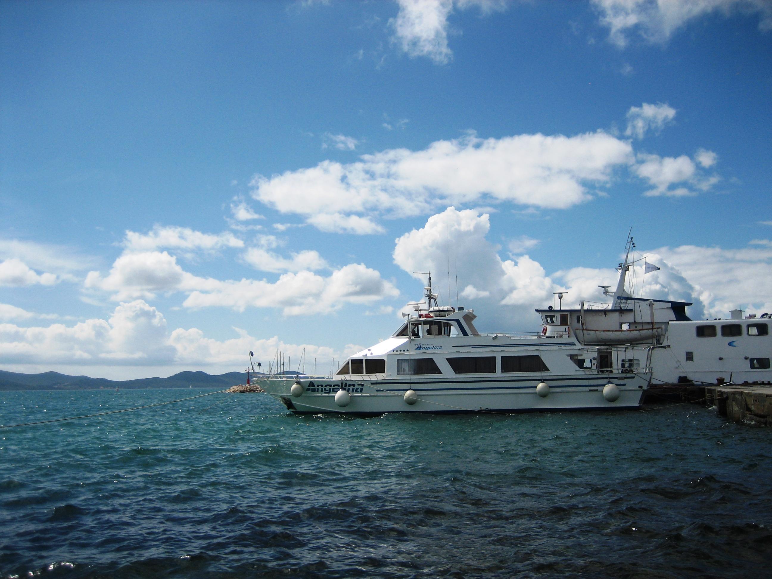 Båtar i Kroatien