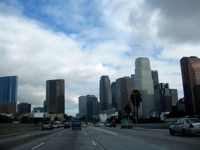 Los Angeles i Kalifornien