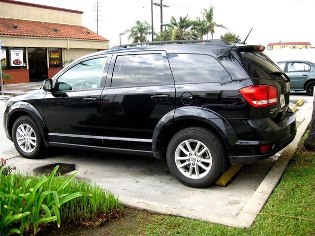 Amerikansk hyrbil i SUV modell