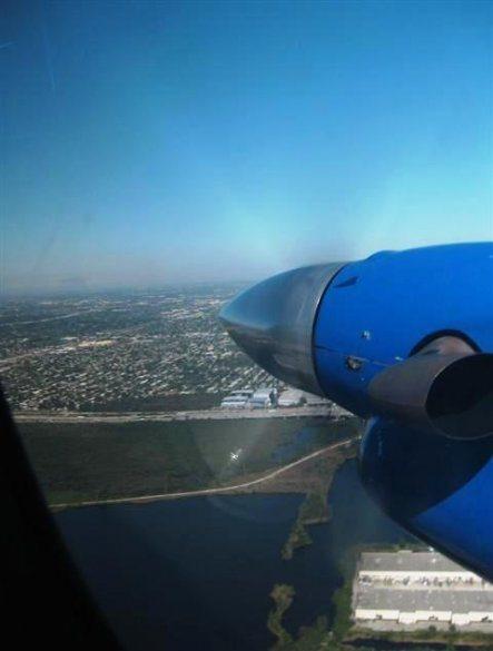 Flygpropeller i luften