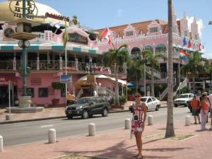 Oranjestad i Aruba