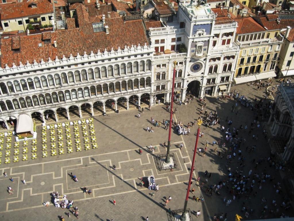 Magnifik utsikt över Venedig