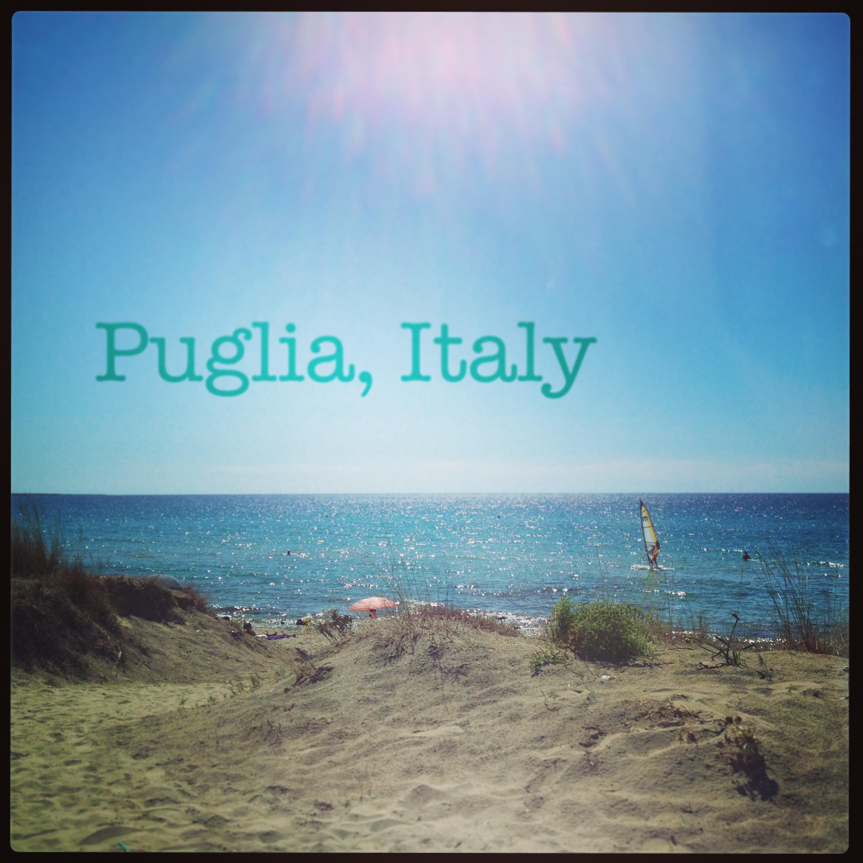 Strand i Puglia i Italien