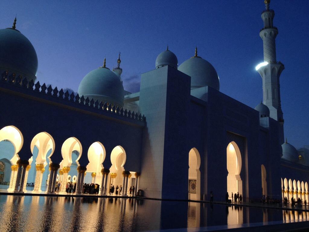 Moske i Abu Dhabi