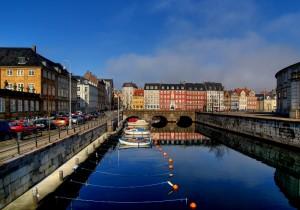 Köpenhamn i Danmark