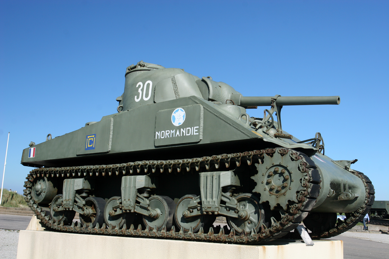 Pansarvagn i Normandie