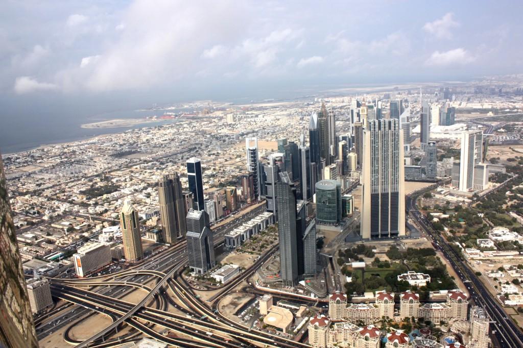 Utsikt över Dubai