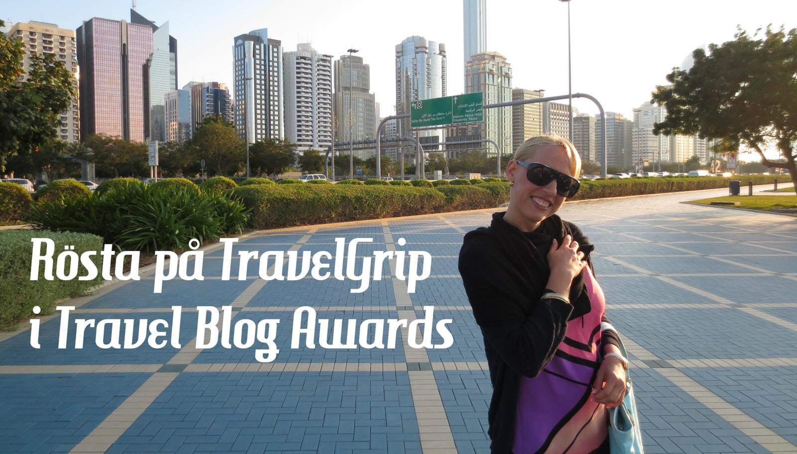 TravelGrip nominerad i tävling