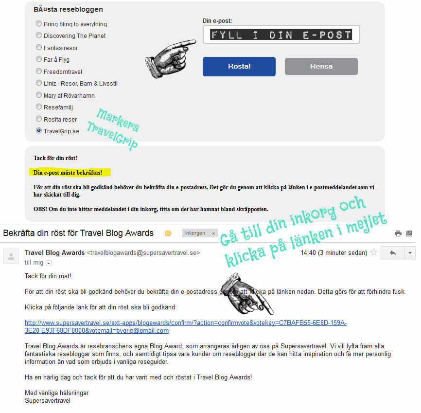 reseblogg-tavling