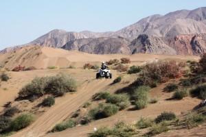 TravelGrip åker fyrhjuling på semestern