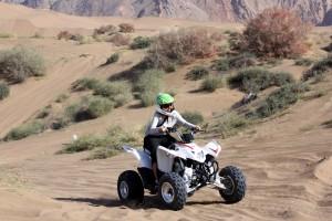 Åk fyrhjuling på semestern