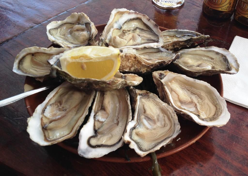 Ostron är en specialitet i Normandie