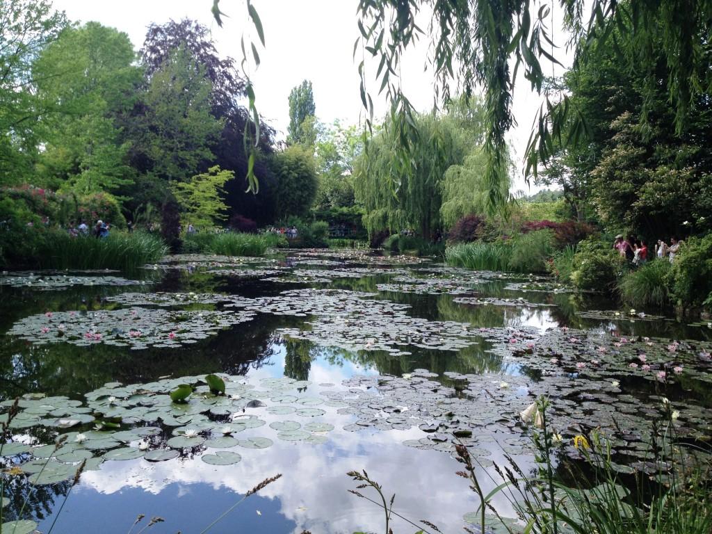 Monets trädgård i Giverny