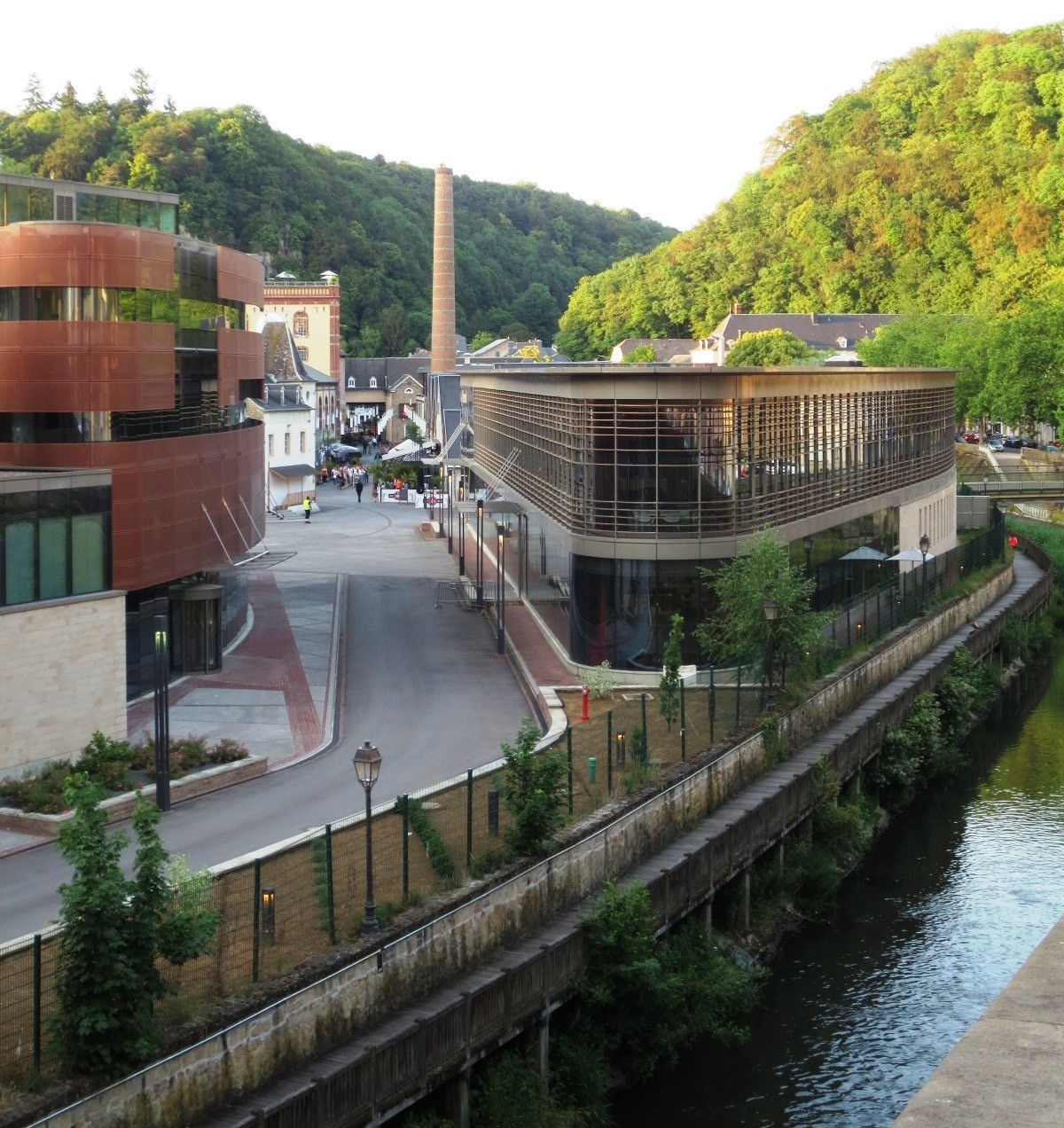 les Rives de Clausen i Luxemburg