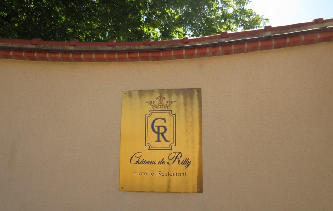 Slottet Chateau de Rilly i Champagne