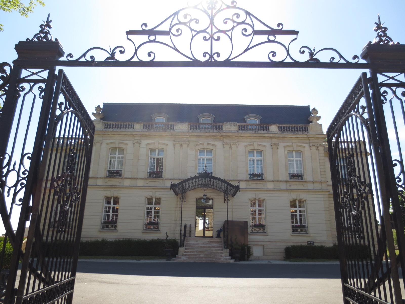 Slottet Chateau de Rilly i Champagne