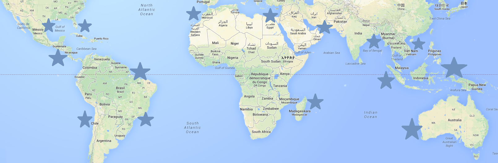 ekvatorn karta Julresor är en växande trend   TravelGrip listar lämpliga julresor ekvatorn karta