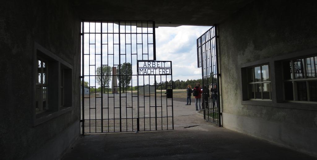 Sachsenhausen utanför Berlin