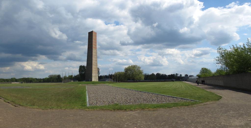 koncentrationsläger Sachsenhausen utanför Berlin