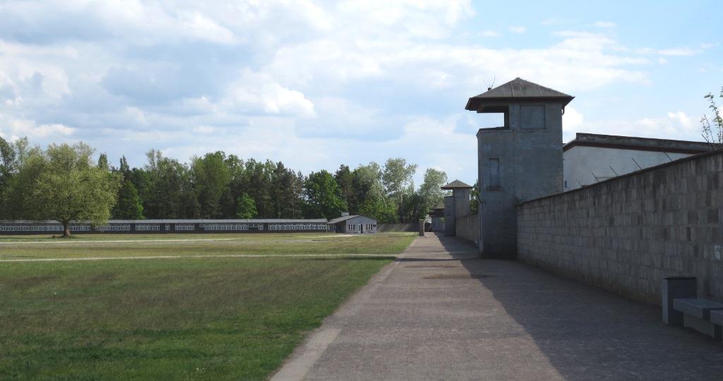 Koncentrationslägret Sachsenhausen utanför Berlin