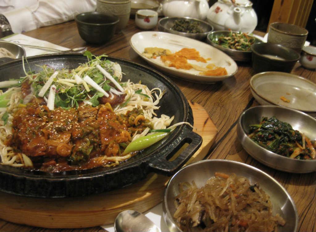Koreansk mat i Seoul