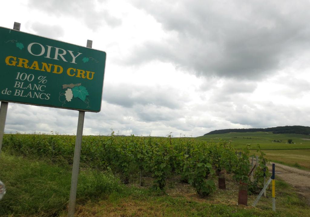 Champagneregionen i norra Frankrike