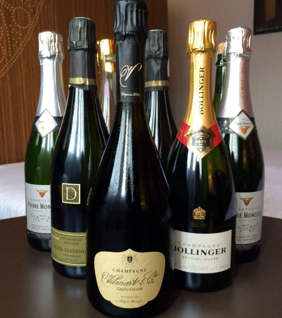 Champagneinköp i Reims