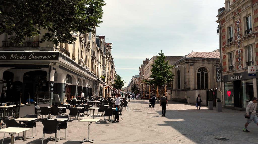Place Drouet d'Erlon i Reims