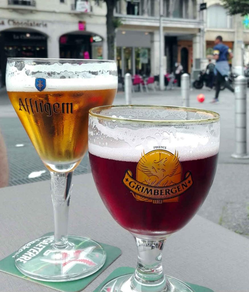 Belgisk öl är populärt i Reims