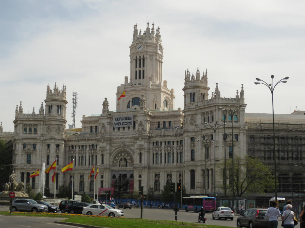 Palacio de Cibeles i Madrid