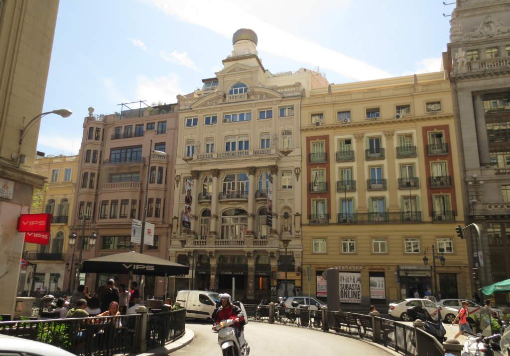 Innerstaden i Madrid
