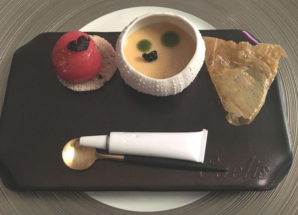 Caelis-Michelin-lunch-Barcelona-TravelGrip