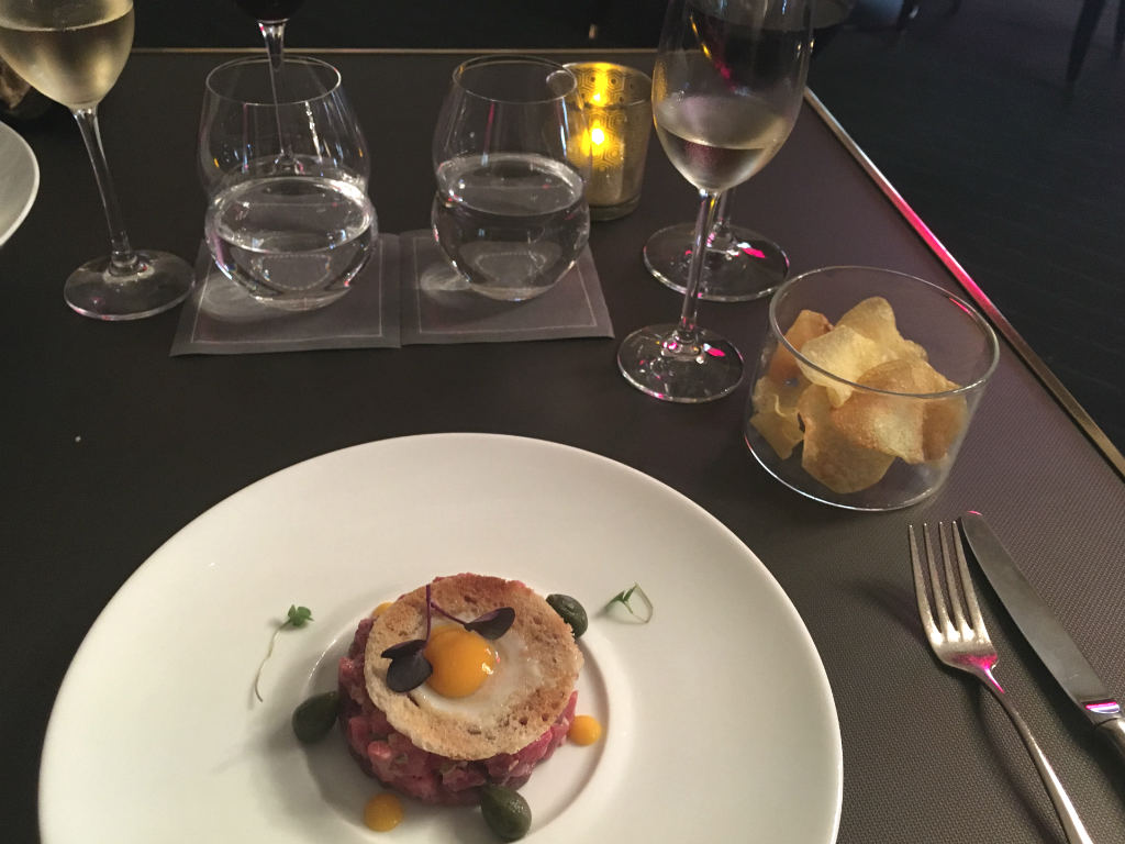 Lunch-pa-Michelinbelonad-Caelis-Barcelona-TravelGrip