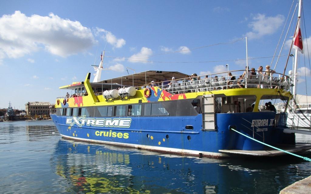 Båttur till Blå Lagunen på Malta
