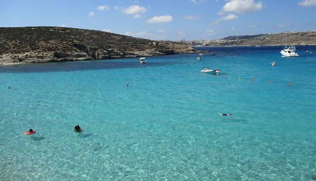 Blå Lagunen i Malta