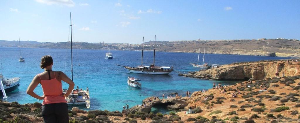 Blå Lagunen på Malta