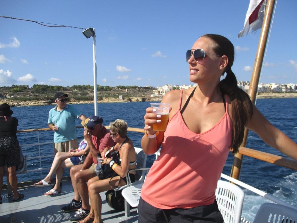 TravelGrip på båttur till Blå Lagunen
