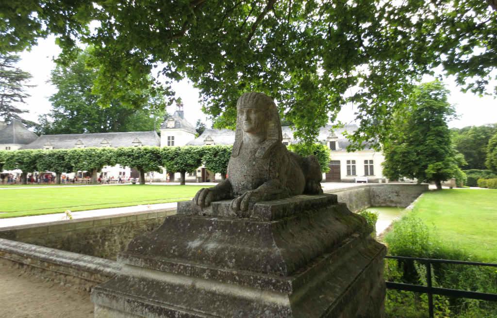 Chenonceau i Loire