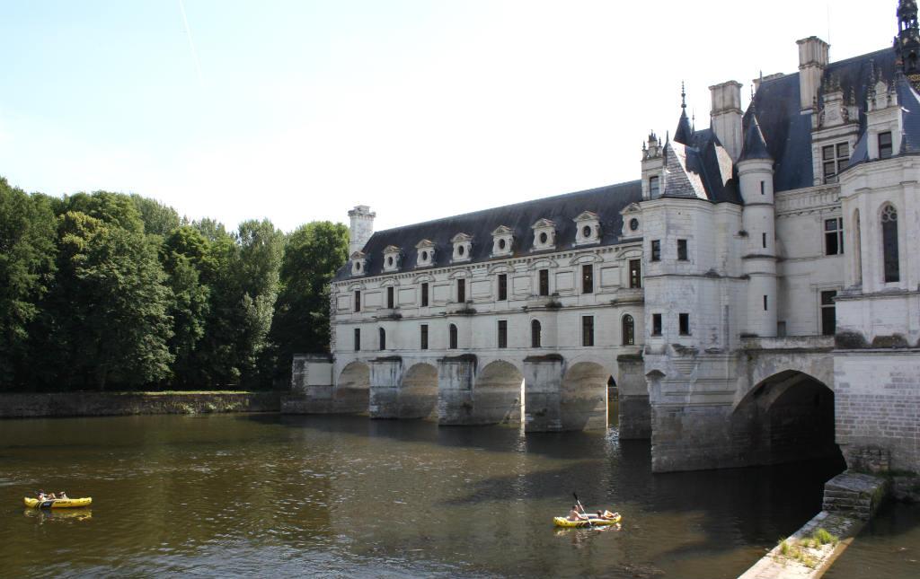 Slottet i Chenonceau