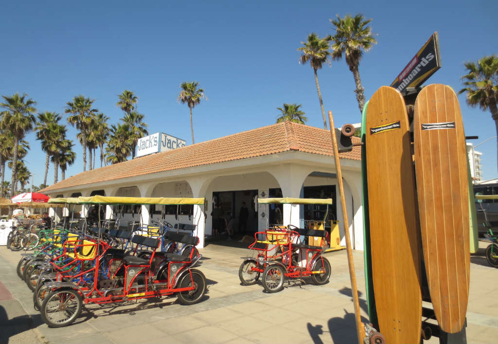 Cykeluthyrning i Huntington Beach