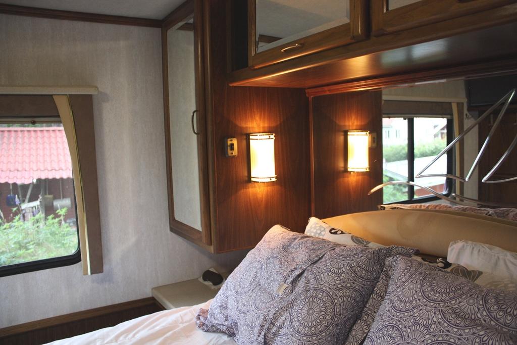 Sovrum i en Amerikansk husbil