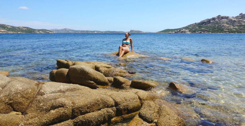 Bad i norra Sardinien