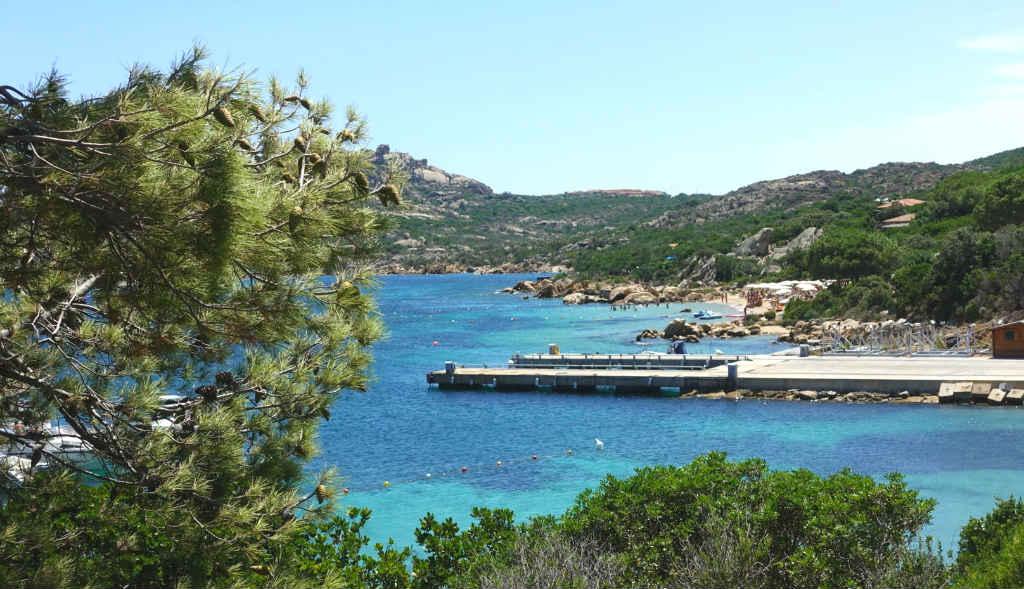 Sköna stränder i norra Sardinien