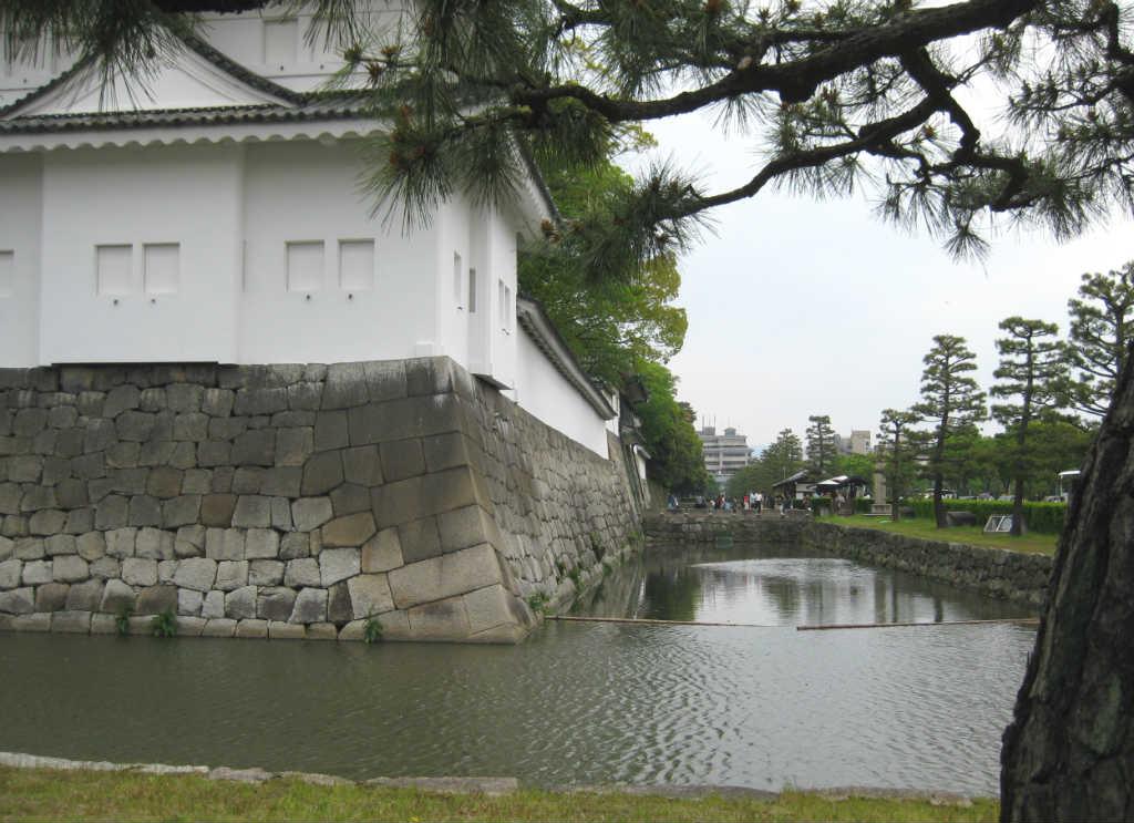 Vallgraven runt Nijō Castle