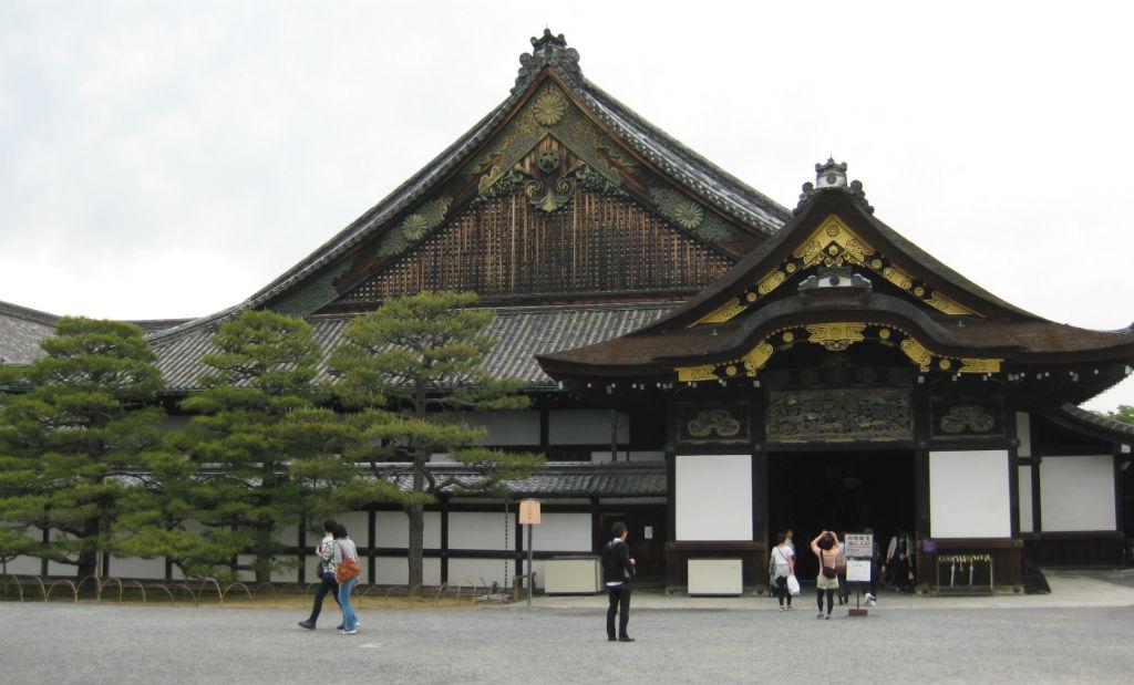 Nijō Castle utanför Kyoto